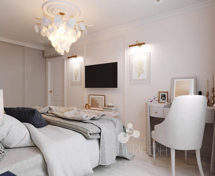 Интерьер квартиры для девушки