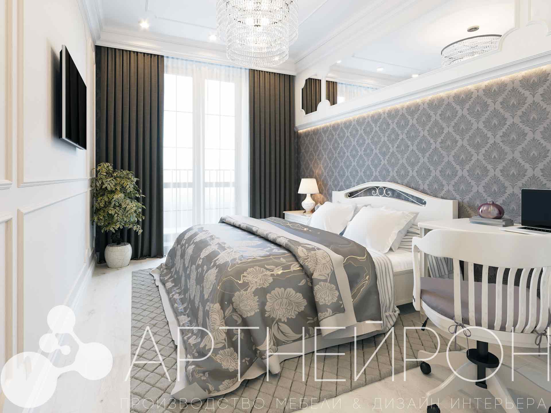Дизайн интерьера квартиры в Барнауле