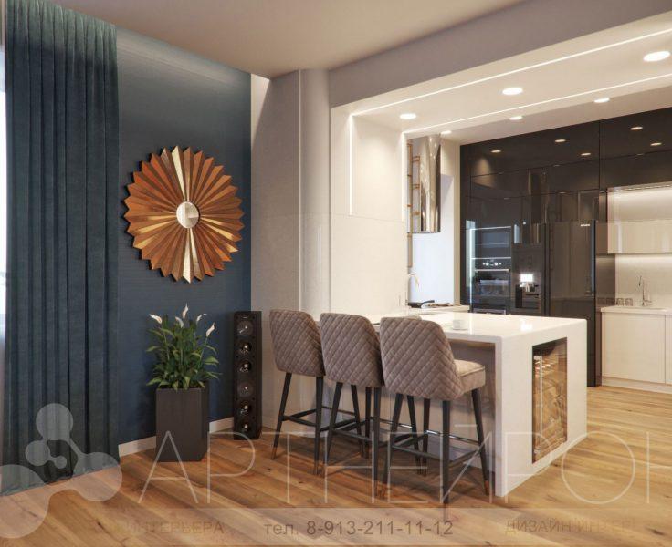 Дизайн квартиры в Барнауле