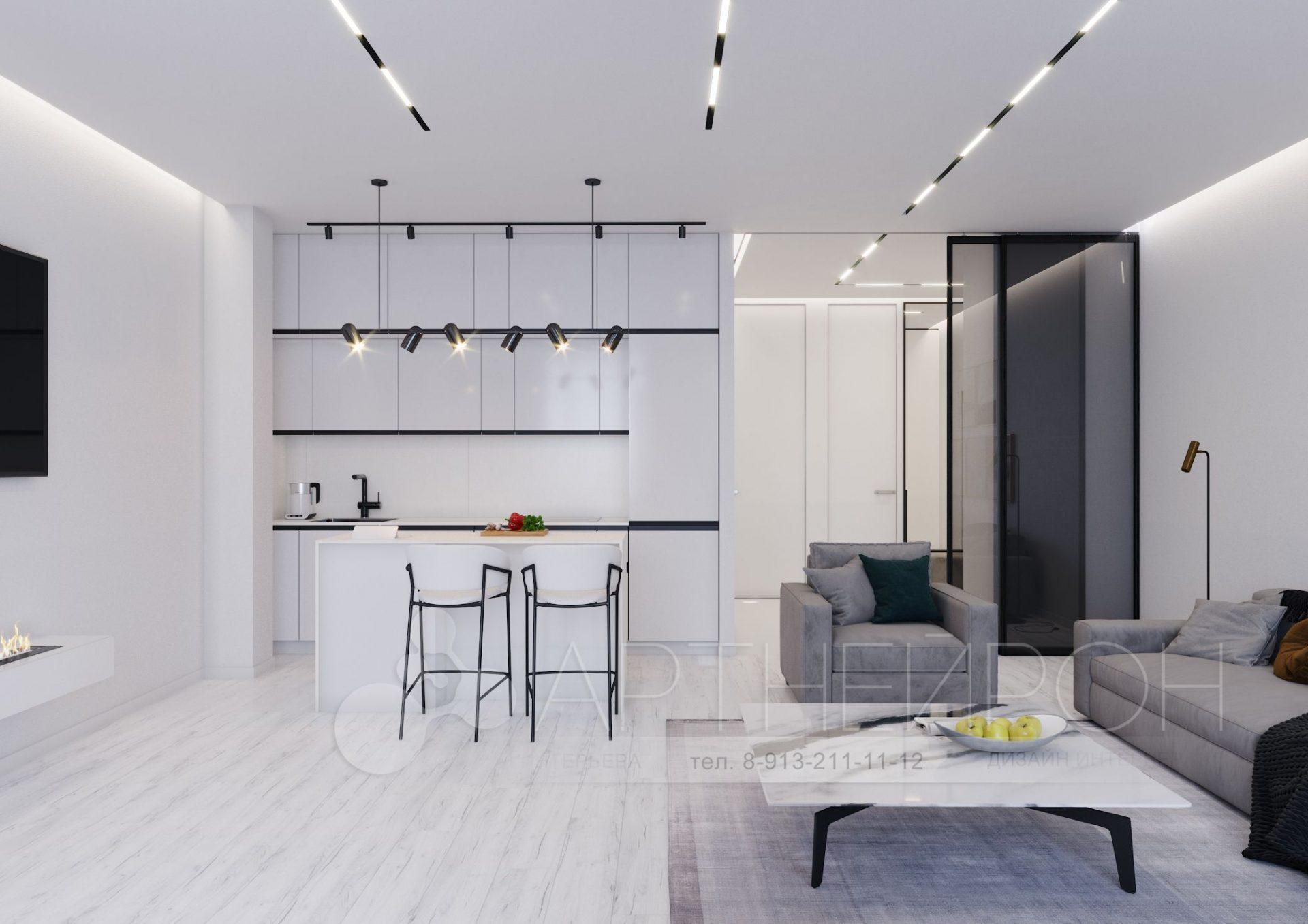 Дизайн квартиры, Гоголя, 46